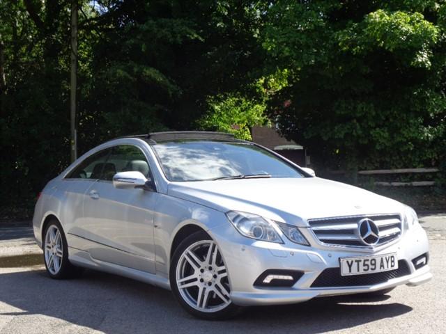 Mercedes E350 in Tadworth Surrey