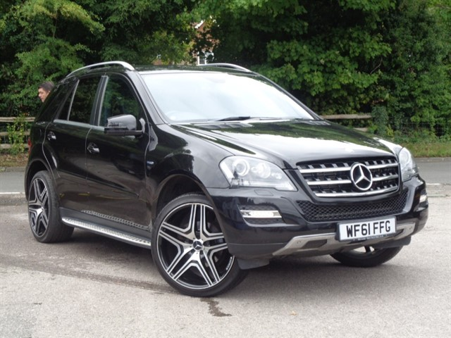 Mercedes ML350 in Tadworth Surrey