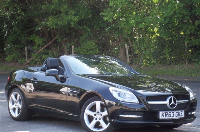 Mercedes SLK in Tadworth Surrey