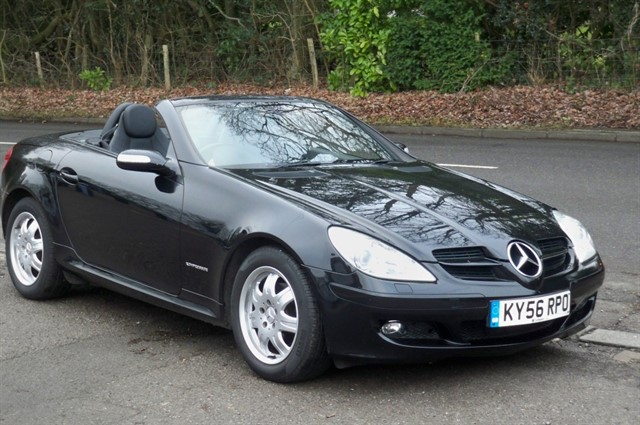 Mercedes SLK200 in Tadworth Surrey