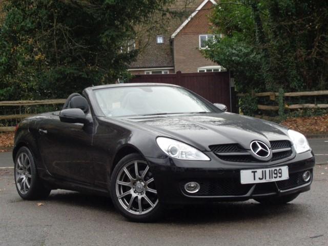Mercedes SLK280 in Tadworth Surrey