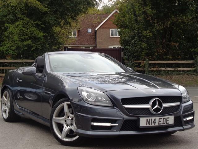 Mercedes SLK200 in Tadworth Surrey