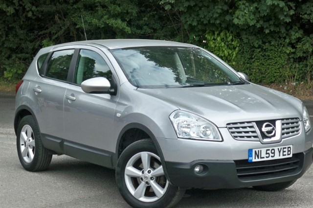 Nissan Qashqai in Tadworth Surrey