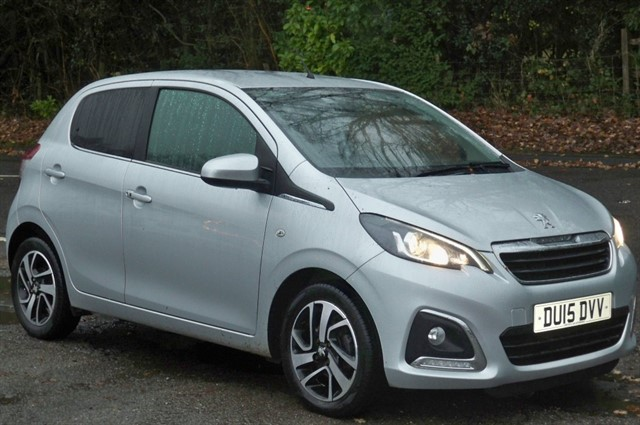 Peugeot 108 in Tadworth Surrey
