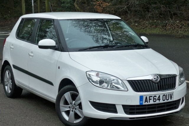 Skoda Fabia in Tadworth Surrey