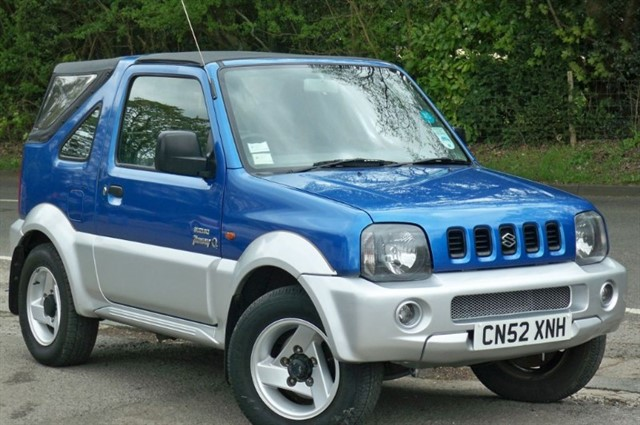 Suzuki Jimny in Tadworth Surrey