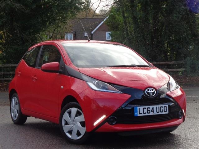 Toyota Aygo in Tadworth Surrey
