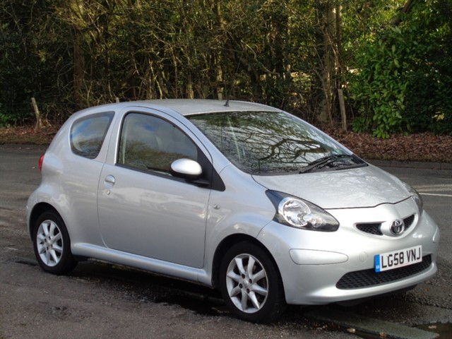 Toyota Aygo in Tadworth Surrey
