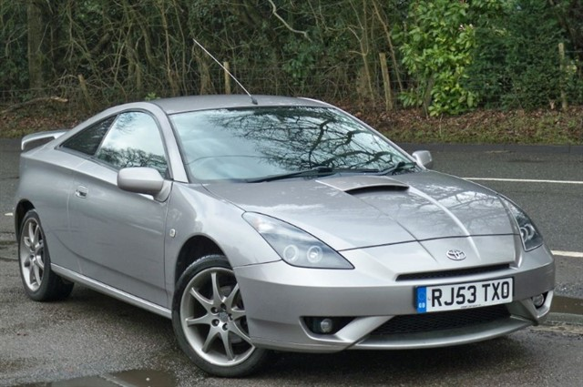 Toyota Celica in Tadworth Surrey