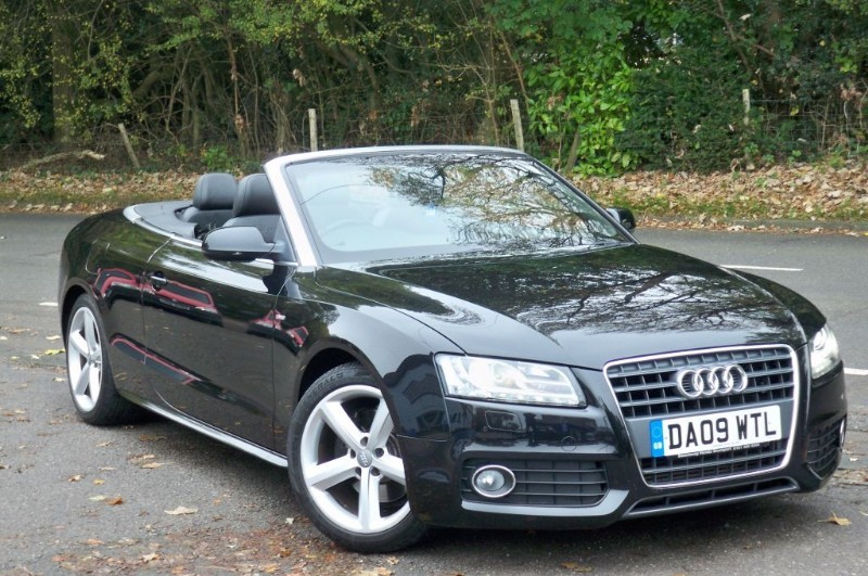 used Audi A5 2.0 TFSI S Line Convertible in surrey
