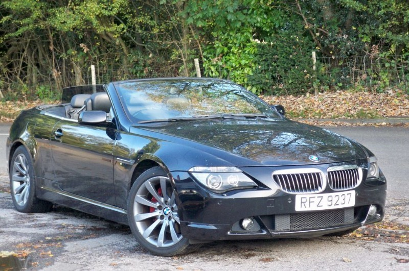used BMW 650i 650i Convertible in surrey