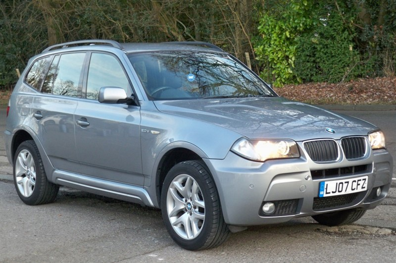 used BMW X3 D M SPORT in surrey
