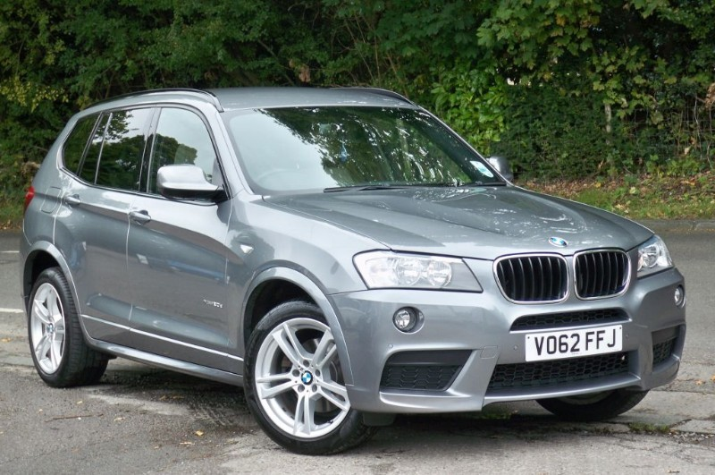 used BMW X3 XDRIVE20D M Sport in surrey
