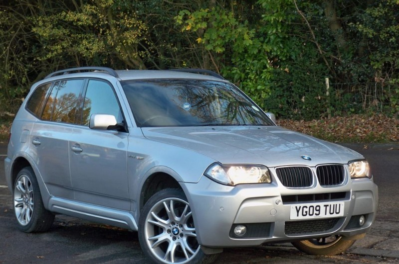 used BMW X3 2.0d M Sport in surrey