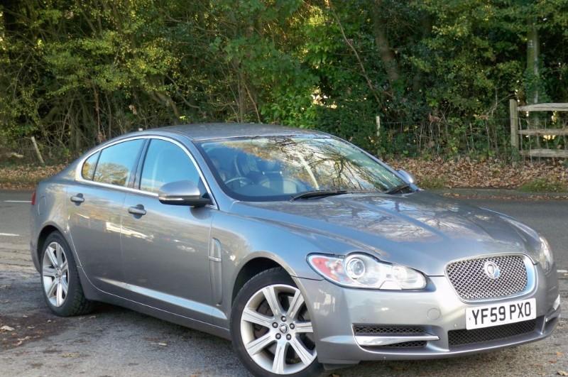 used Jaguar XF 3.0 TD Luxury in surrey