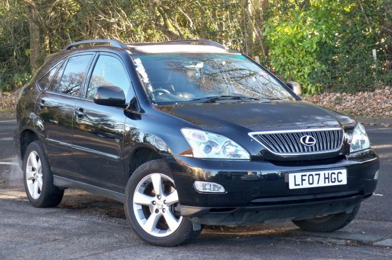 used Lexus RX 350 SE-L    SAT & LEATHER in surrey
