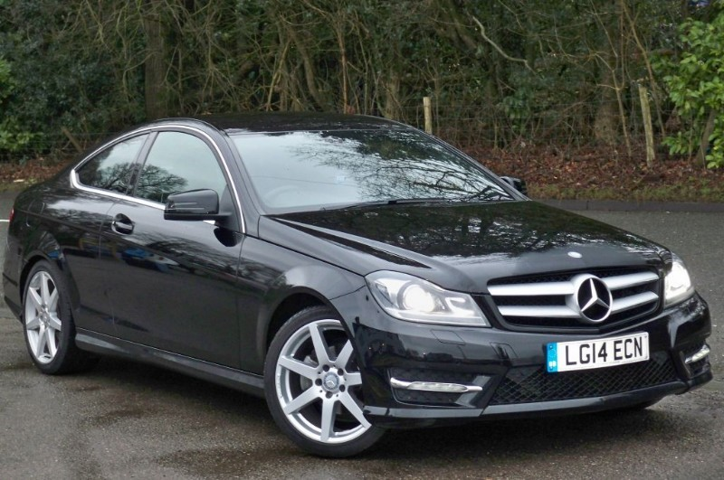 used Mercedes C180 AMG SPORT EDITION in surrey