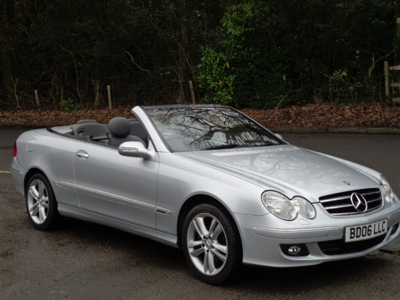 used Mercedes CLK280 AVANTGARDE in surrey