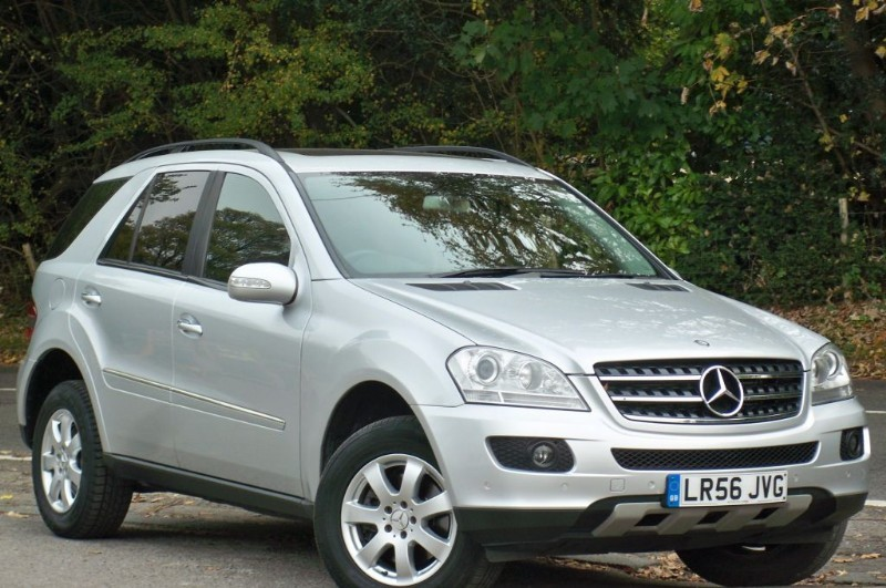 used Mercedes ML320 CDI SE in surrey