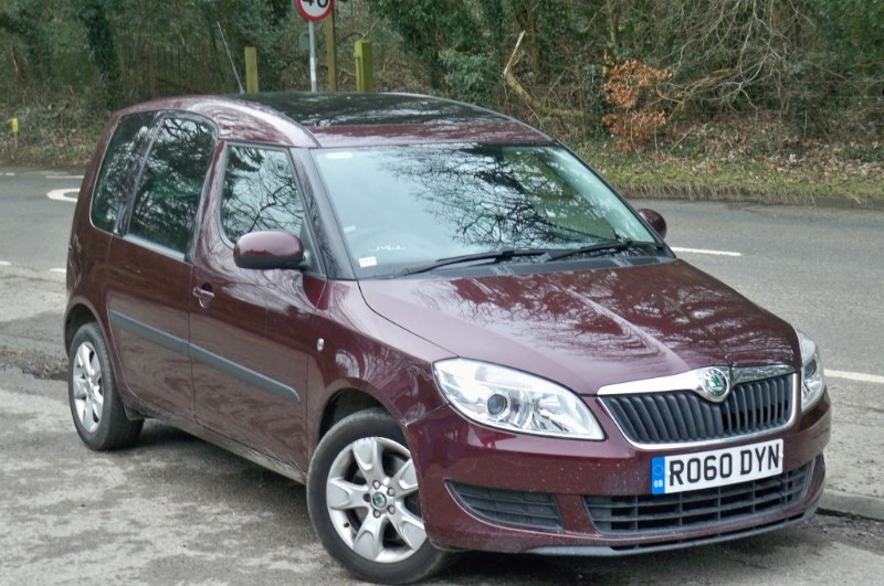 used Skoda Roomster 1.2 SE TSI DSG in surrey