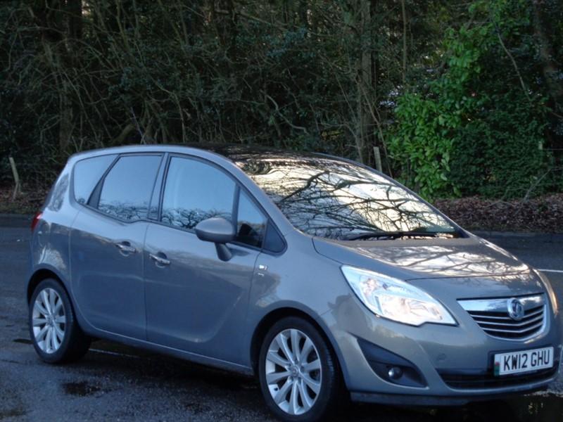 used Vauxhall Meriva SE in surrey