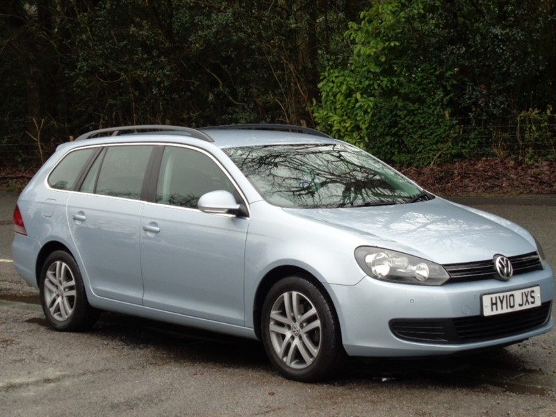 used VW Golf SE TDI BLUEMOTION DSG in surrey