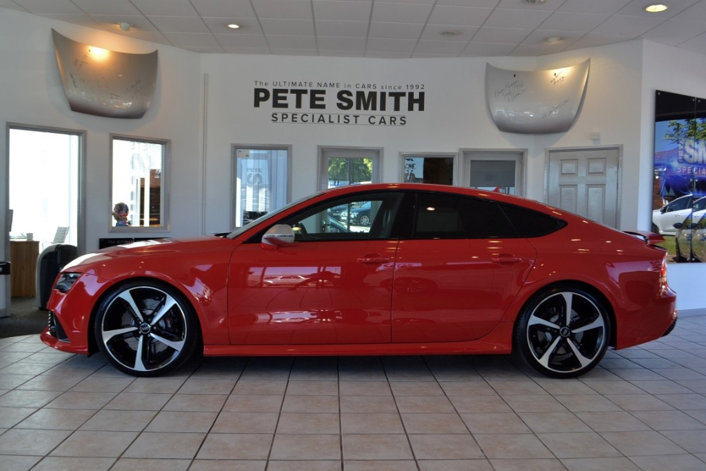 Used Misano Red Pearl Effect Audi RS For Sale Gloucestershire - Audi rs7 for sale
