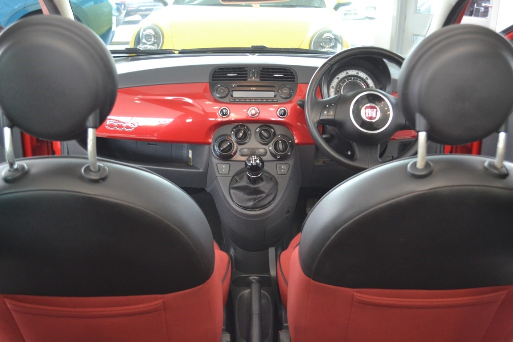 Used Ragamuffin Red Fiat 500 For Sale   Gloucestershire