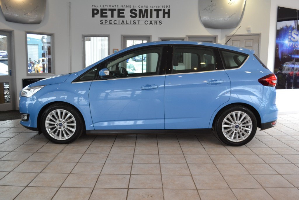Ford C Max 1 0 Ecoboost 5 Door Anium Navigation 2016 65one Owner Only 30 Road Tax