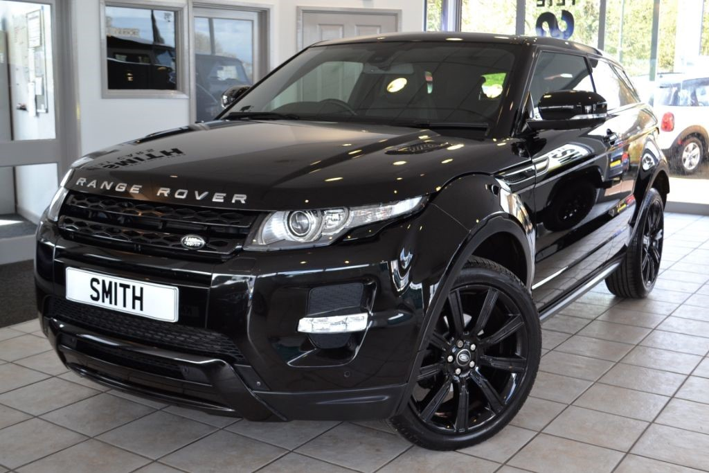 used santorini black land rover range rover evoque for. Black Bedroom Furniture Sets. Home Design Ideas