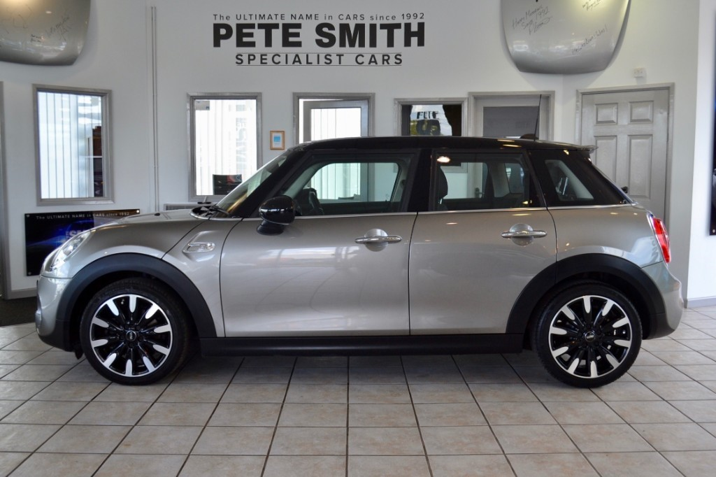 5 Miles Cars For Sale >> Used Melting Silver Mini Cooper S For Sale Gloucestershire