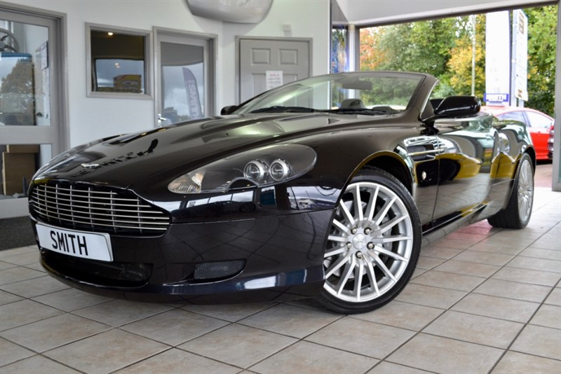 used Aston Martin DB9 5.9 V12 VOLANTE CONVERTIBLE JUST 53000 MILES SERVICE HISTORY 11 STAMPS  2006/06 in forest-of-dean-gloucestershire