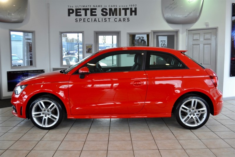 used Audi A1 1.2 TFSI S LINE 3 DOOR  ONLY 40000 MILES MULTIMEDIA 2014/14 in forest-of-dean-gloucestershire