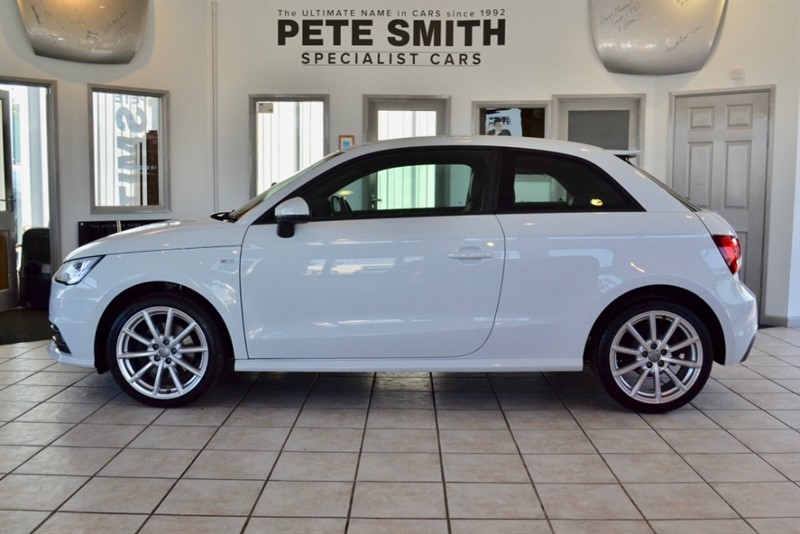 used Audi A1 TFSI S LINE WITH NAVIGATION AND DAB RADIO ONE OWNER 2016/16 in forest-of-dean-gloucestershire
