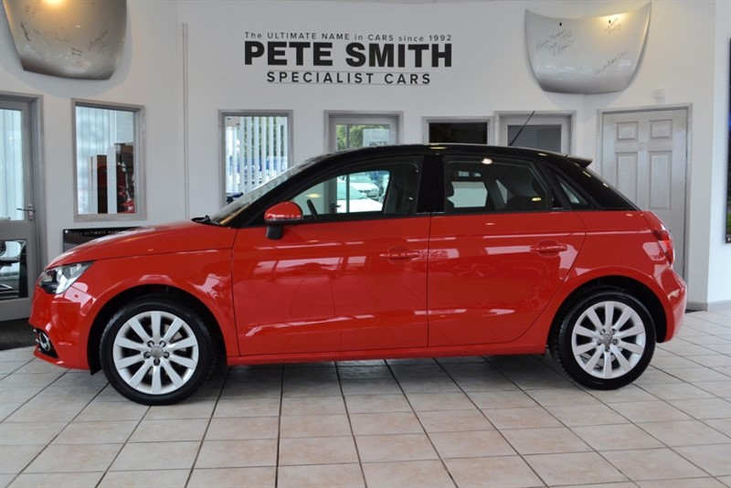 used Audi A1 2.0 SPORTBACK TDI SPORT ONE OWNER FULL AUDI HISTORY 2012/62 in forest-of-dean-gloucestershire