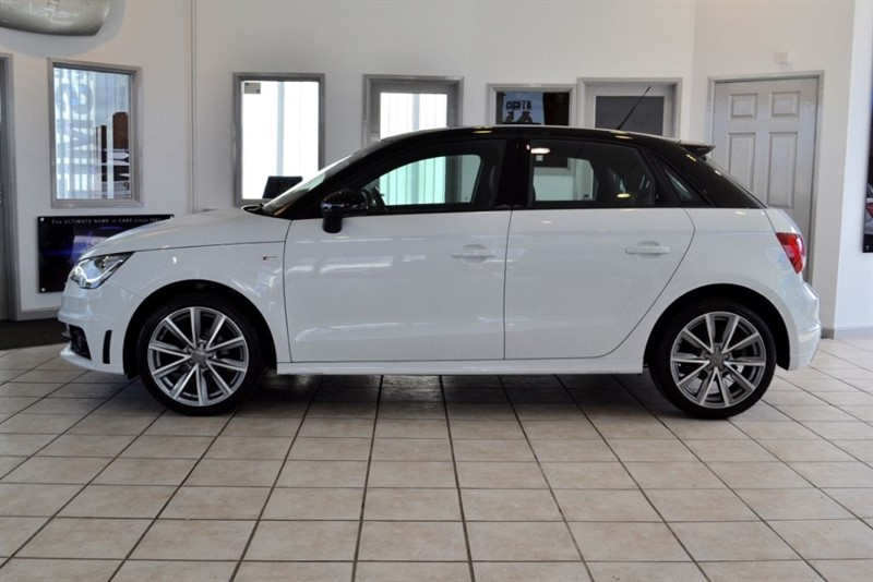 used Audi A1 1.2 SPORTBACK TFSI S LINE STYLE EDITION ONE OWNER ONLY 12000 MILES  in forest-of-dean-gloucestershire