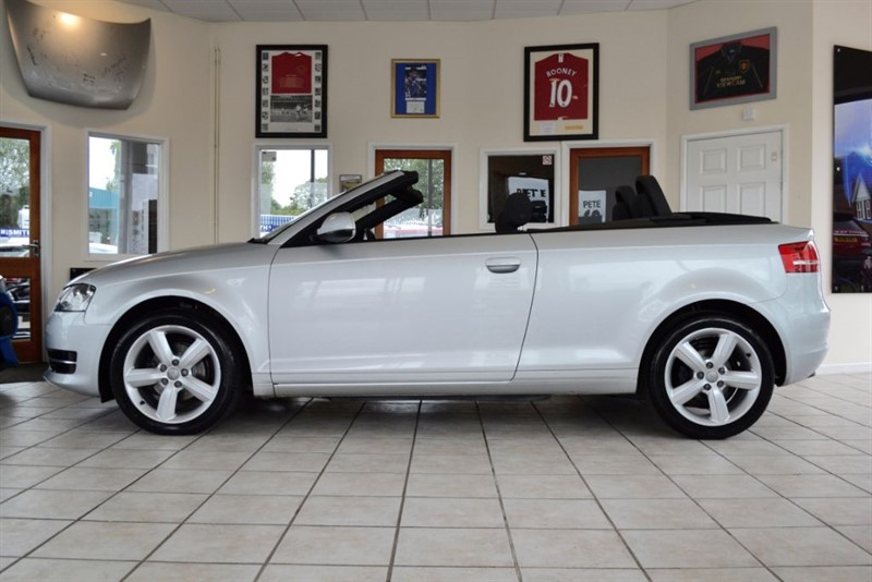 used Audi A3 1.6 TDI TECHNIK CONVERTIBLE WITH ONLY £30 POUNDS ROAD TAX in forest-of-dean-gloucestershire
