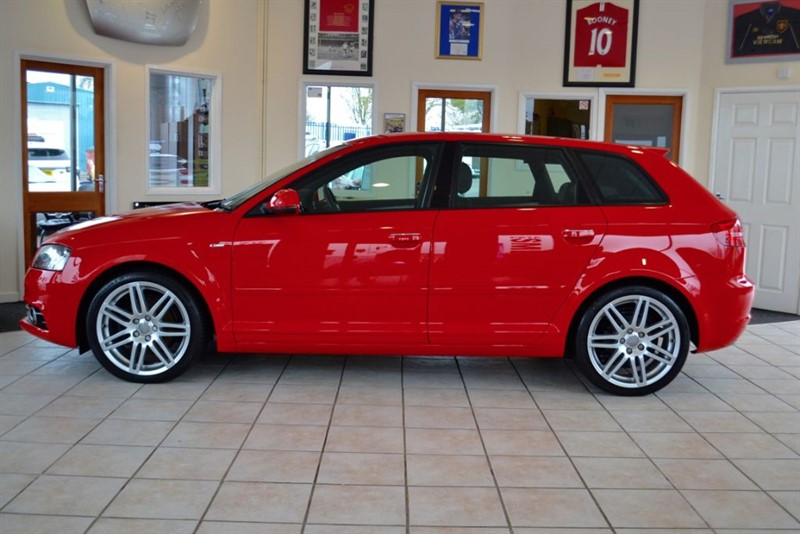 used Audi A3 TDI S LINE WITH FULL LEATHER AND BLUETOOTH  in forest-of-dean-gloucestershire