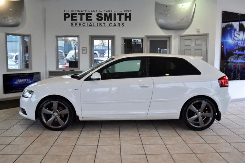 used Audi A3 2.0 TDI S LINE SPECIAL EDITION 3 DOOR 2011/61 in forest-of-dean-gloucestershire