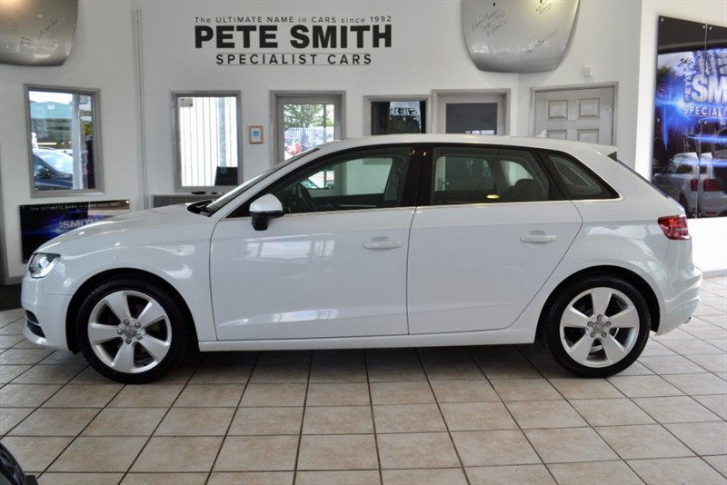 used Audi A3 2.0 TDI SPORT NAVIGATION 5 DOOR  TECH PACK 2016/65 FULL AUDI SERVICE HISTORY in forest-of-dean-gloucestershire