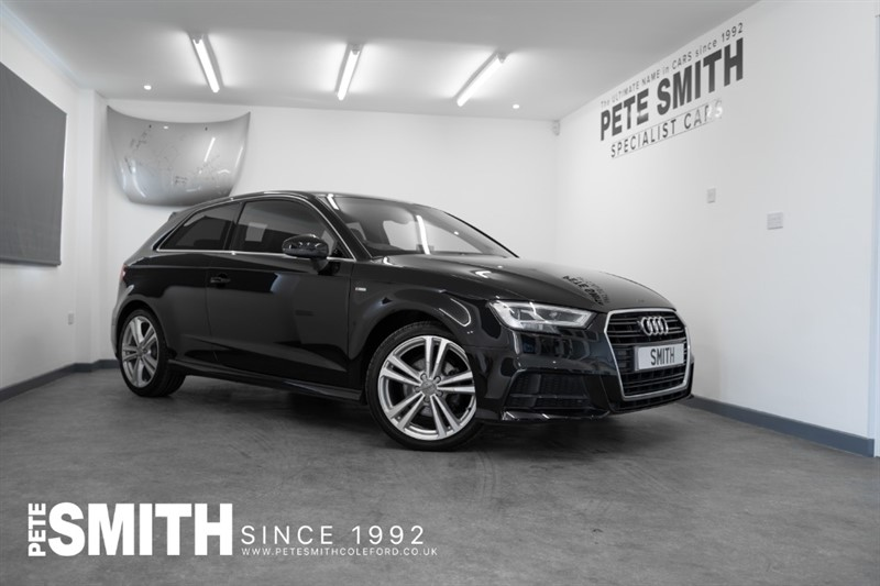 used Audi A3 1.4 TFSI S LINE S-TRONIC AUTO 3 DOOR JUST 29000 MILES S-LINE SPORTS SEATS *NAVIGATION   2016/66 in forest-of-dean-gloucestershire