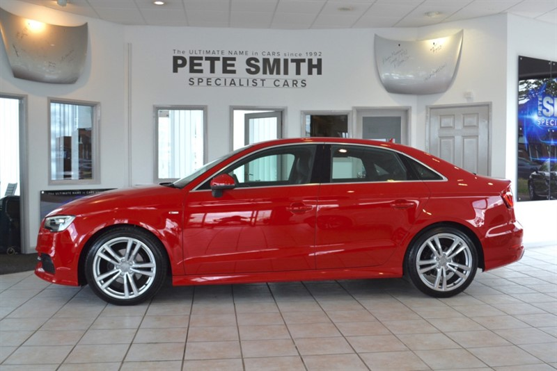used Audi A3 2.0 TDI S LINE SALOON 2014/14 in forest-of-dean-gloucestershire