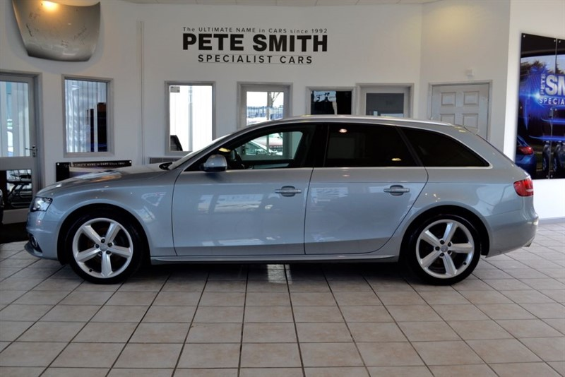 used Audi A4 Avant 2.0 TDI S LINE SPECIAL EDITION 2009/59 in forest-of-dean-gloucestershire