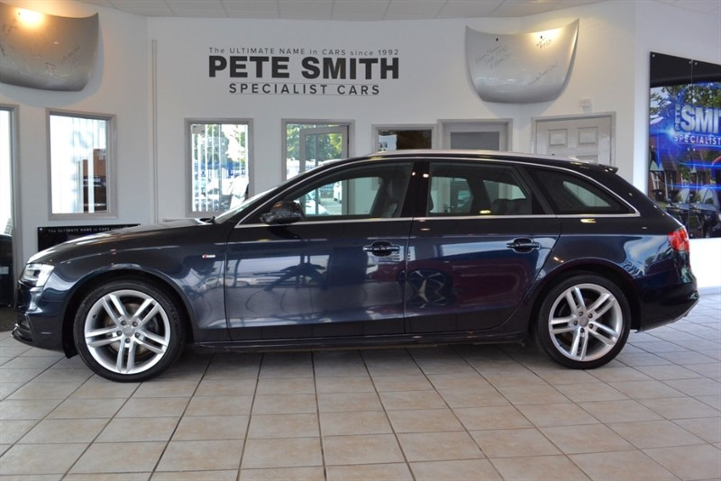 used Audi A4 2.0 A4 S LINE TDI WITH NAVIAGTION 2013/63 in forest-of-dean-gloucestershire
