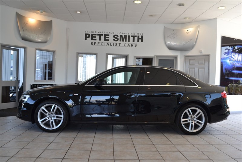 used Audi A4 3.0 TDI QUATTRO S LINE 2015/15 COMPLETE WITH FULL AUDI SERVICE HISTORY in forest-of-dean-gloucestershire
