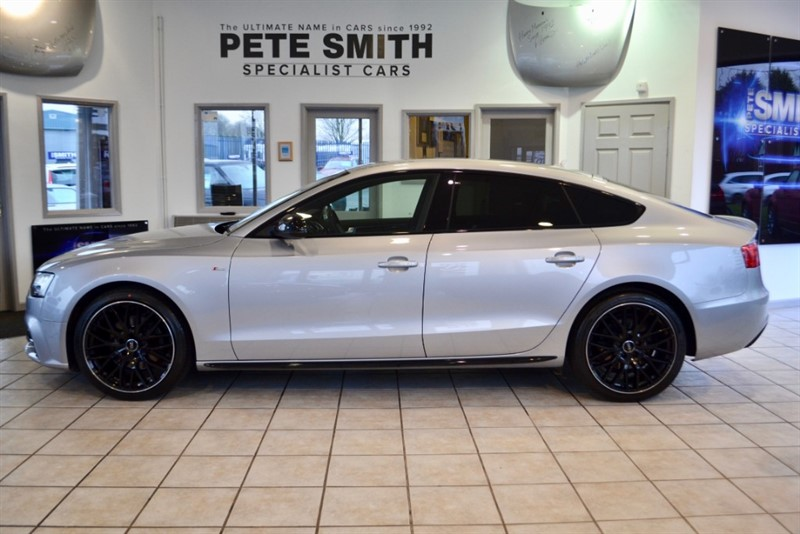 used Audi A5 2.0 TDI SPORTBACK S LINE BLACK EDITION PLUS 5 DOOR FULL AUDI SERVICE HISTORY NAVIGATION  2016/16 in forest-of-dean-gloucestershire