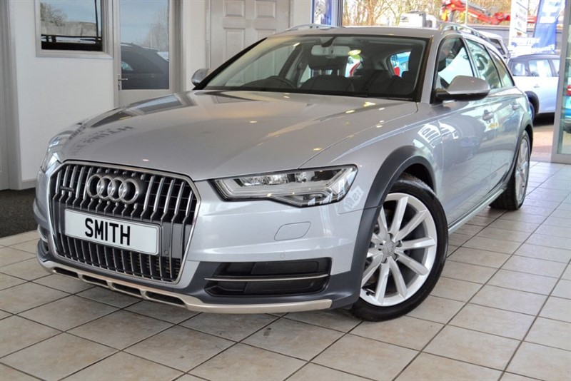 used Audi A6 allroad 3.0 TDI QUATTRO 2015/15 COMPLETE WITH FULL AUDI HISTORY in forest-of-dean-gloucestershire