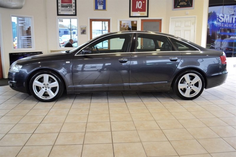 used Audi A6 3.0 TDI QUATTRO S LINE COMPLETE WITH FULL SERVICE HISTORY in forest-of-dean-gloucestershire