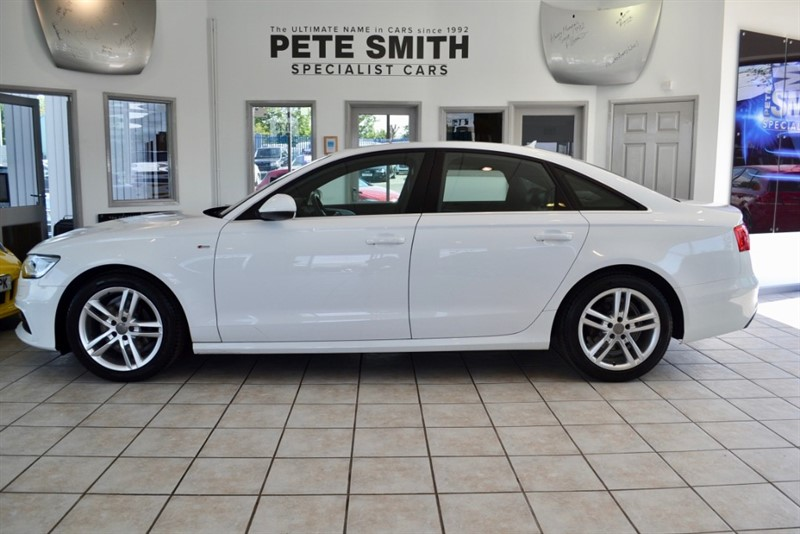 used Audi A6 Saloon 2.0 TDI ULTRA S LINE WITH BLACK LEATHER AND NAVIGATION 2014/64 in forest-of-dean-gloucestershire