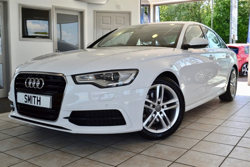 used Audi A6 Saloon 2.0 TDI ULTRA S LINE WITH BLACK LEATHER NAVIGATION AND FULL SERVICE HISTORY2014/64 in forest-of-dean-gloucestershire